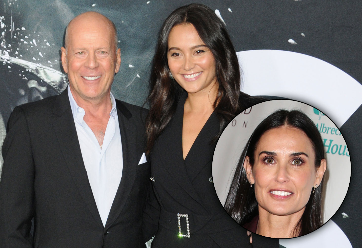 Demi moore supports bruce willis vow renewal