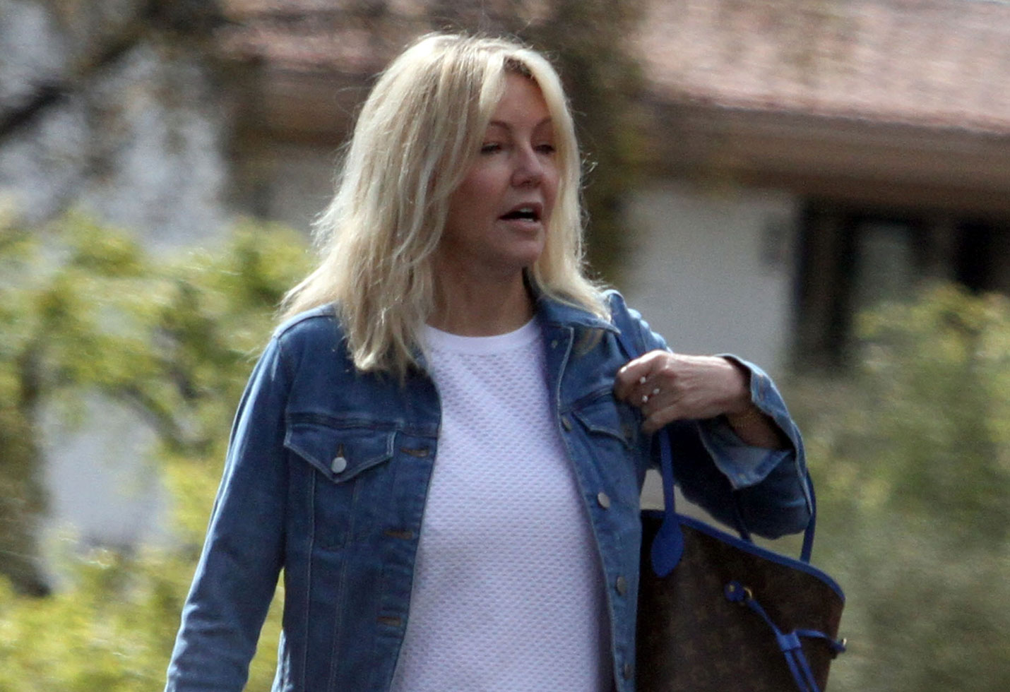 Heather locklear glowing church rehab photos