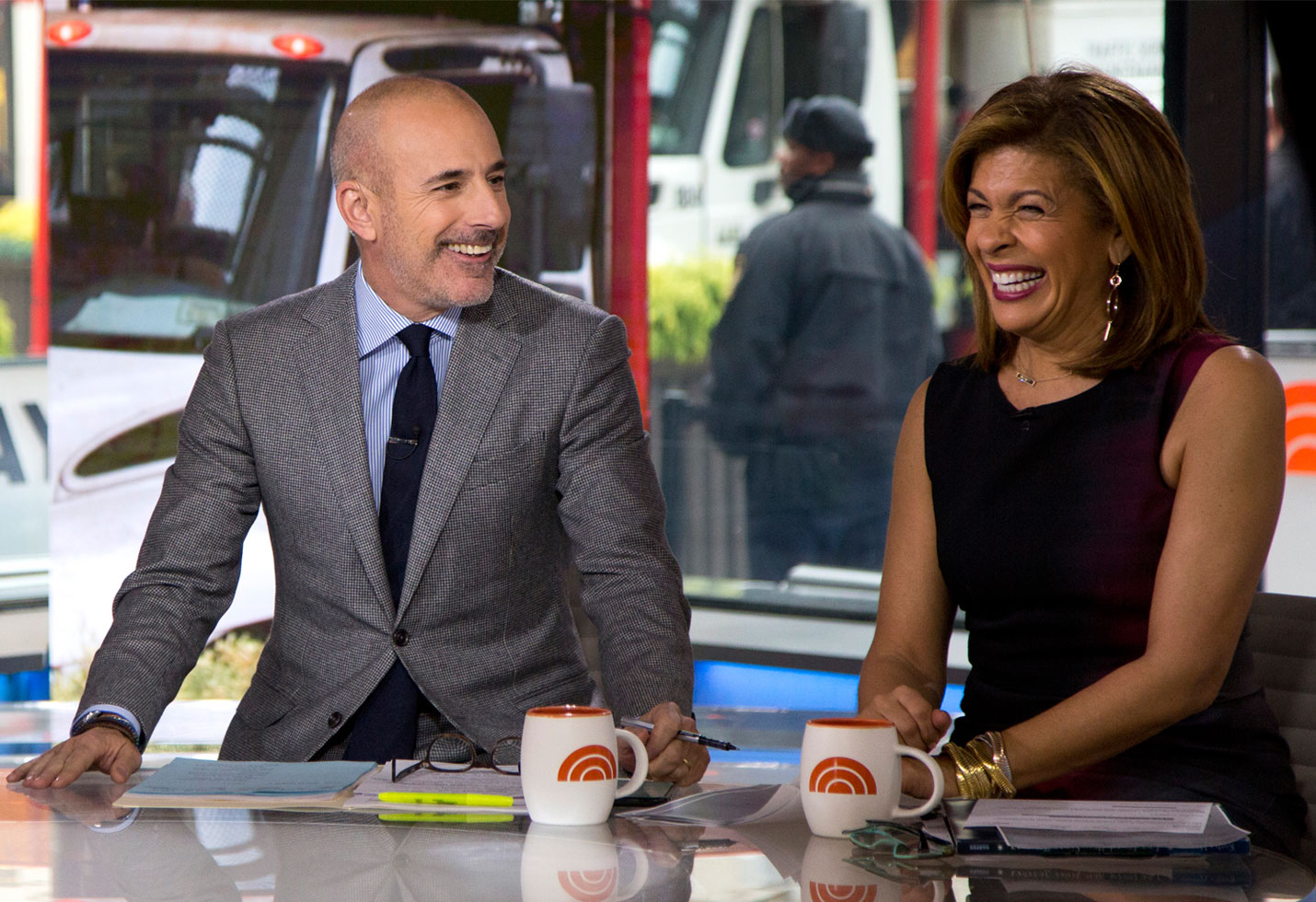 Hoda Kotb still friends Matt Lauer wendy williams show