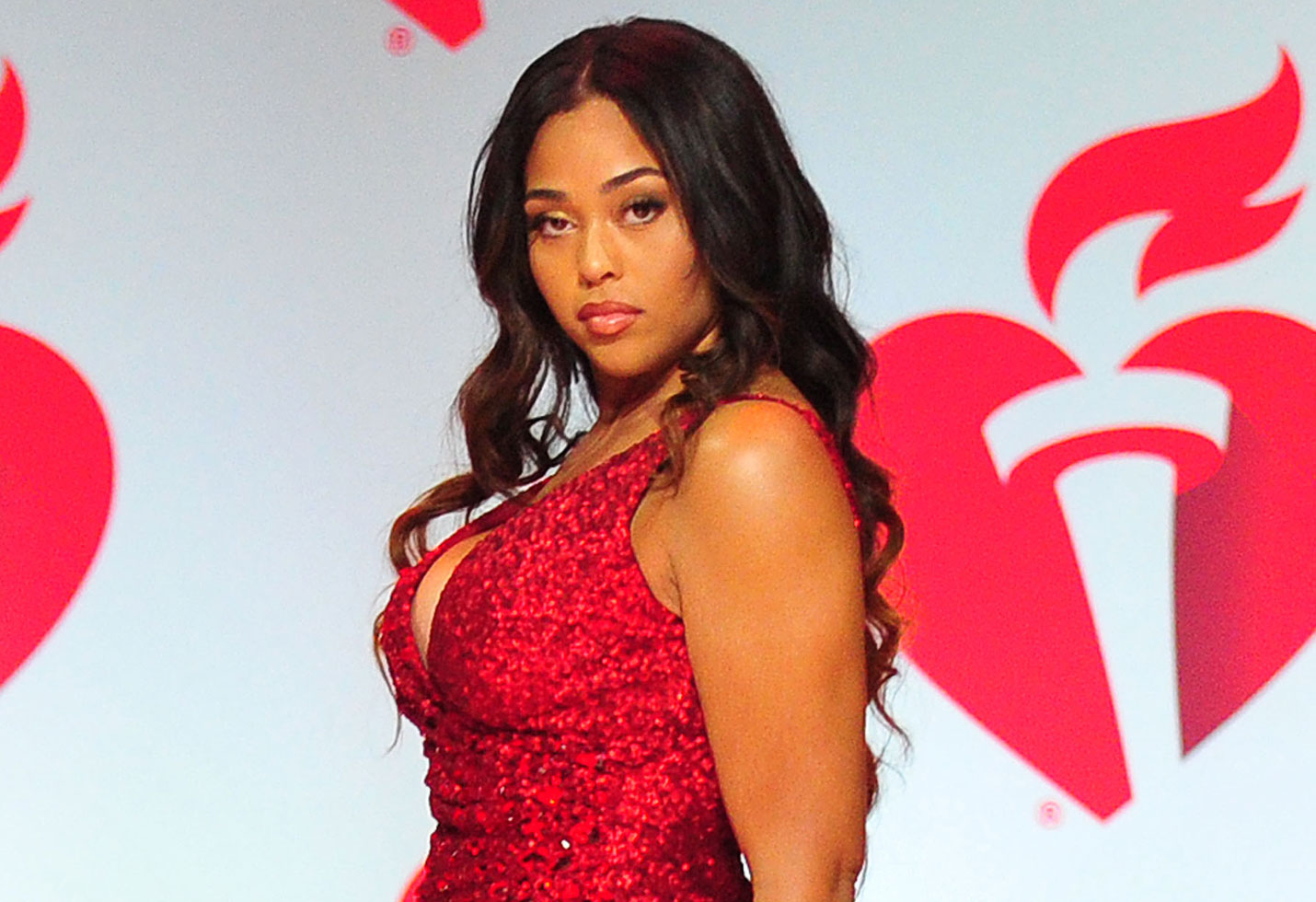 Jordyn Woods red table talk khloe kardashian tristan thompson cheating