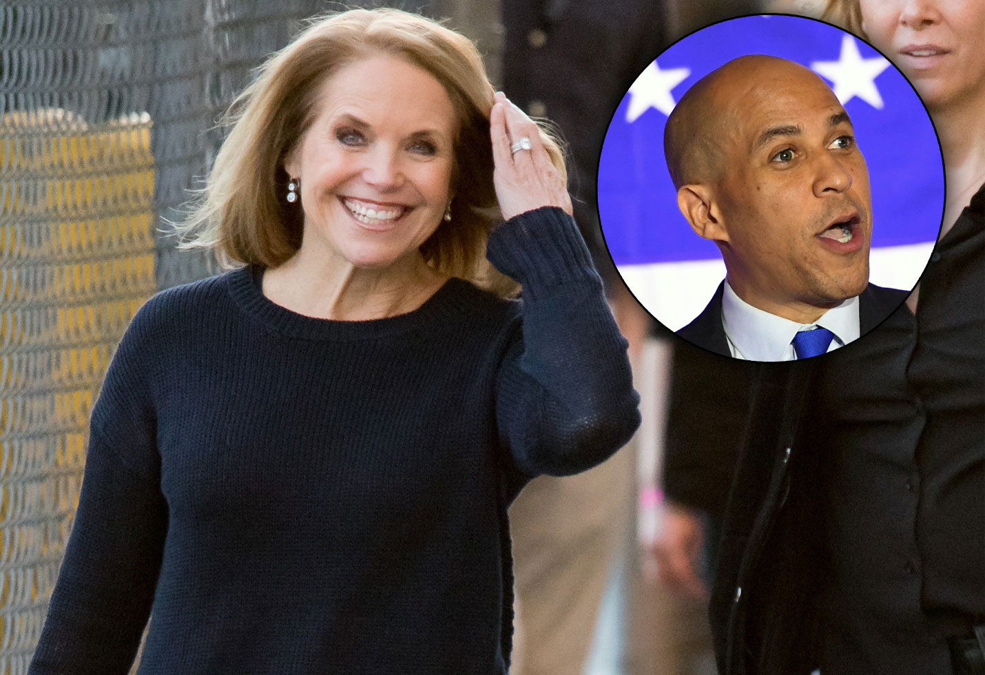 Katie couric dated cory booker wendy williams show