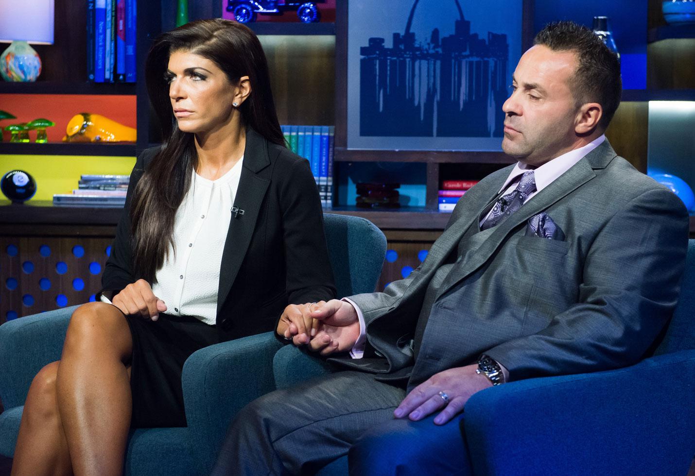 Teresa giudice husband Joe ice custody deportation RHONJ