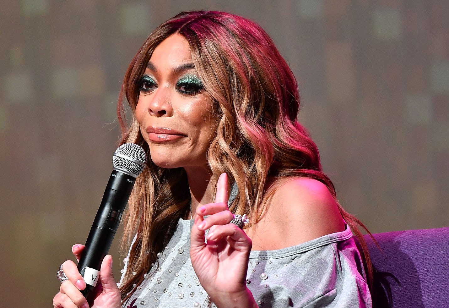 Wendy williams hiatus health issues sober home husband kevin hunter