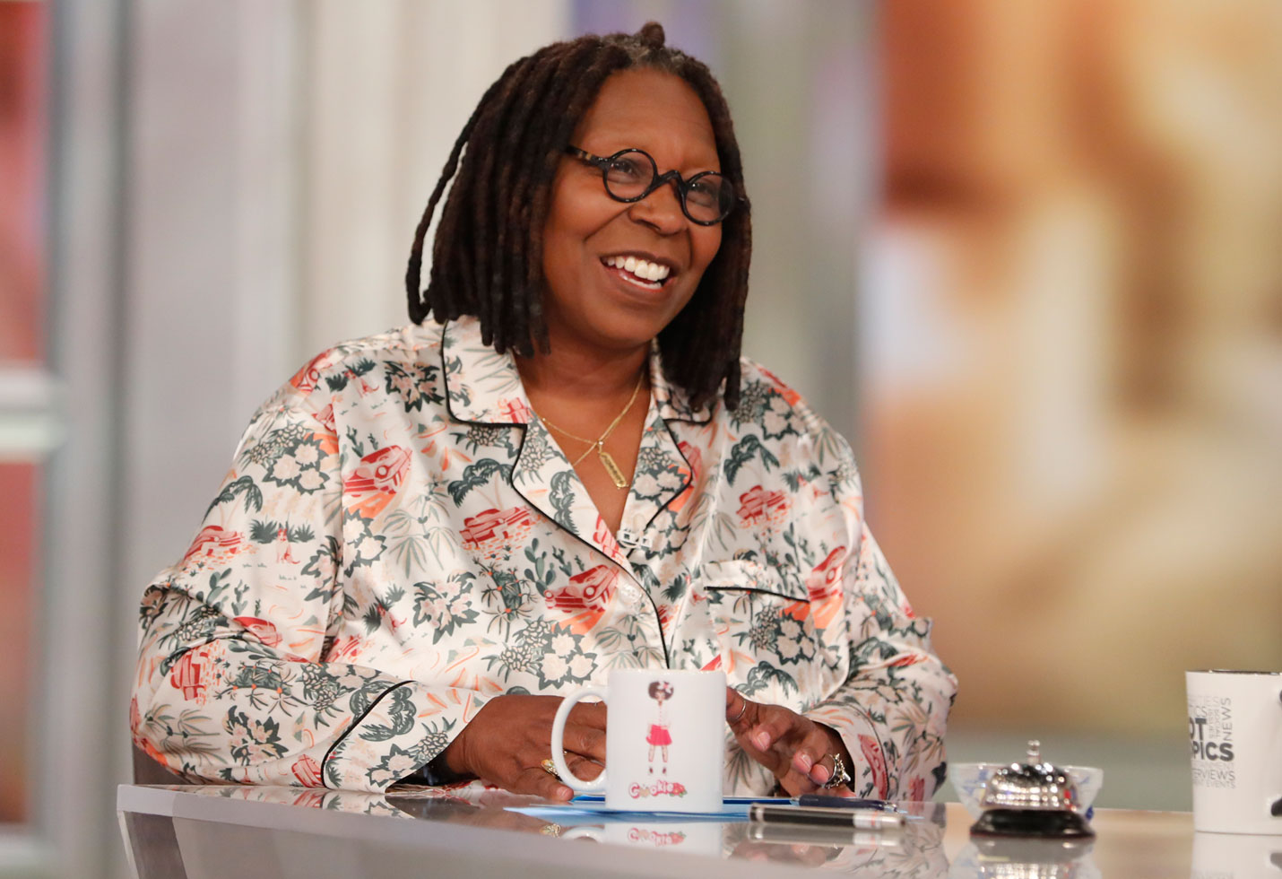 Where is whoopi goldberg the view pneumonia