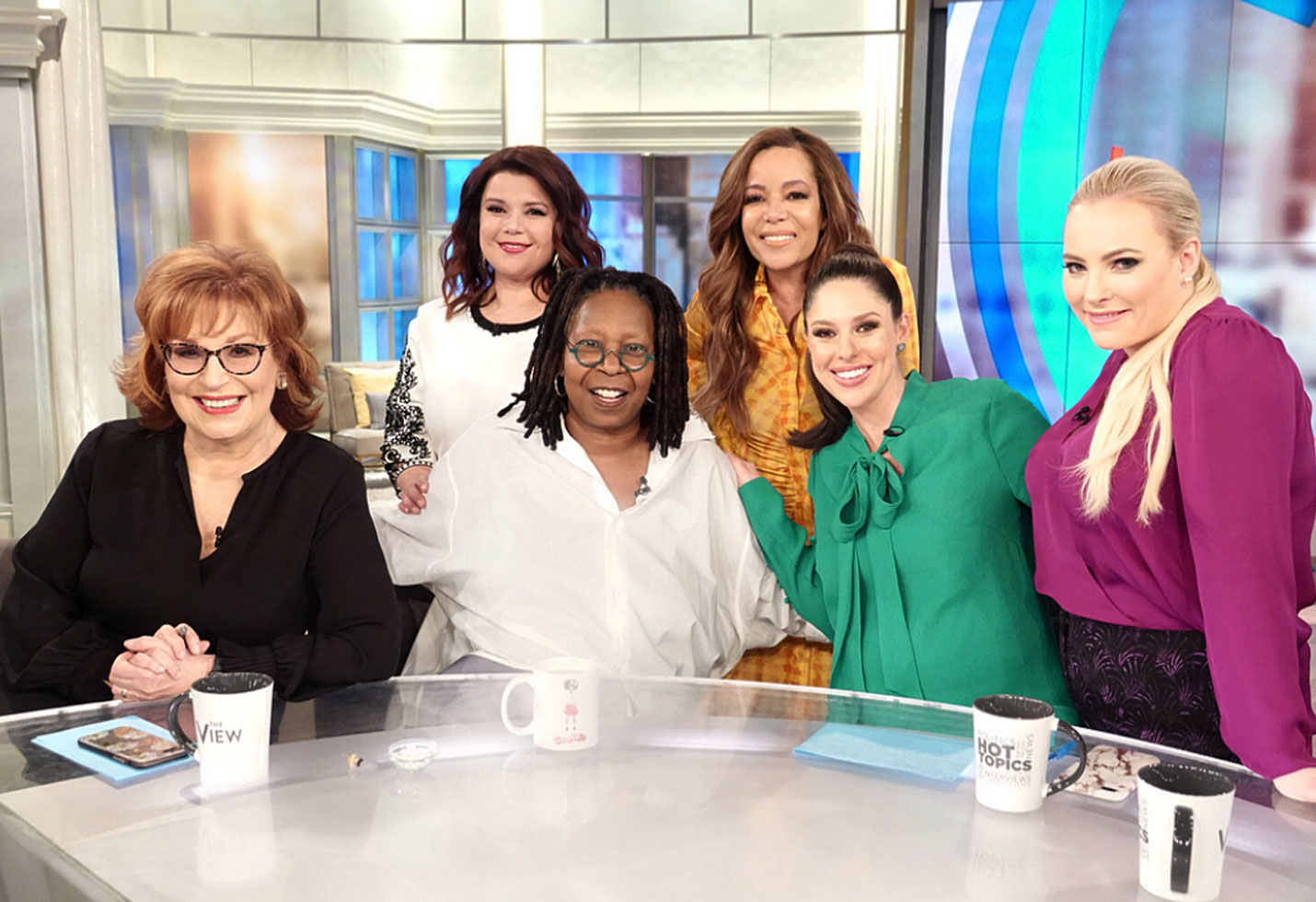 Whoopi goldberg returns the view pneumonia video