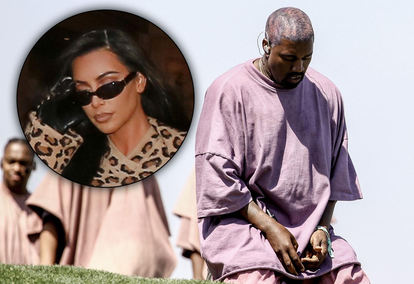Kim kardashian kanye west cult sunday service