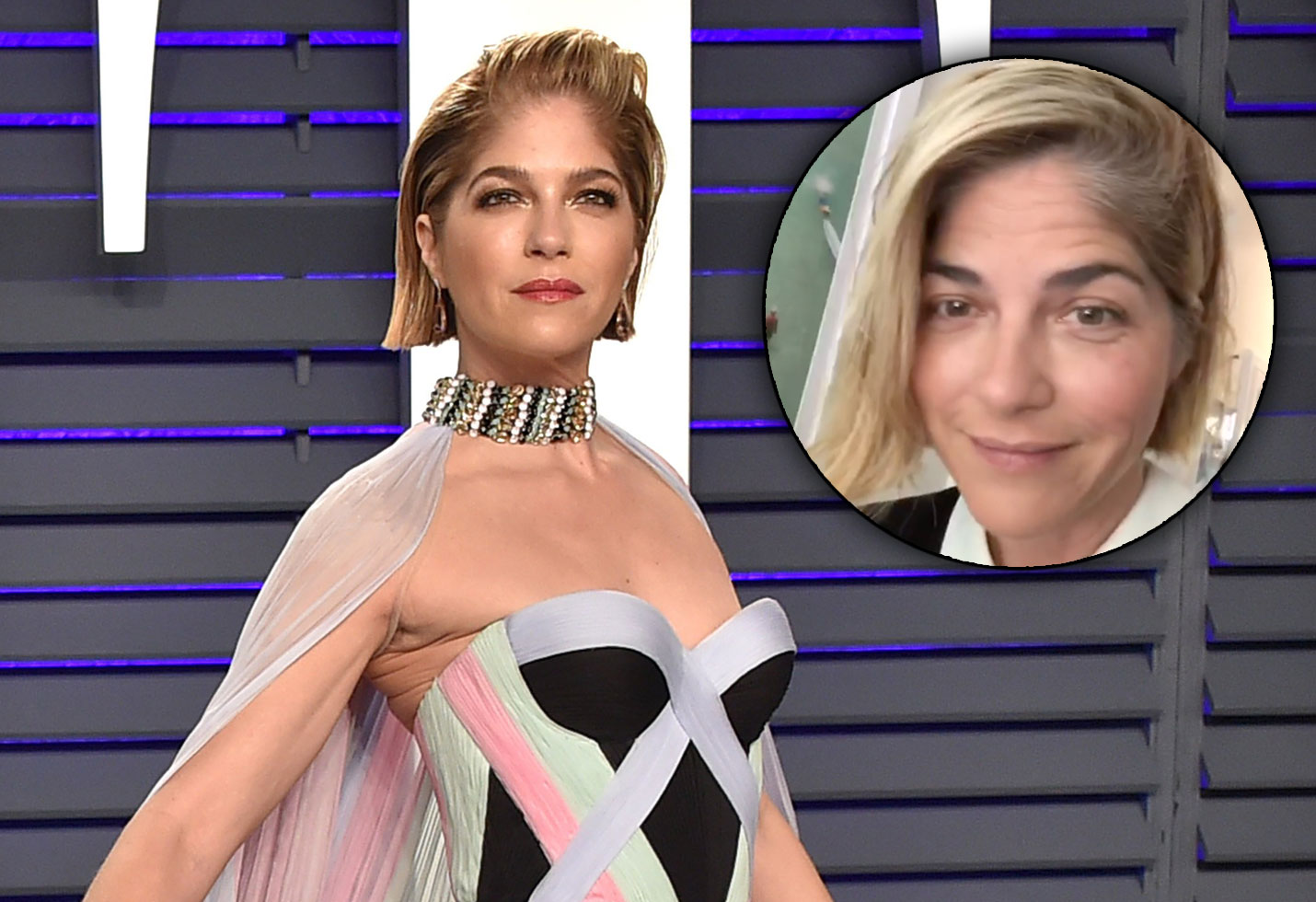 Selma Blair Share Funny MS Makeup Tutorial Without 'Fine