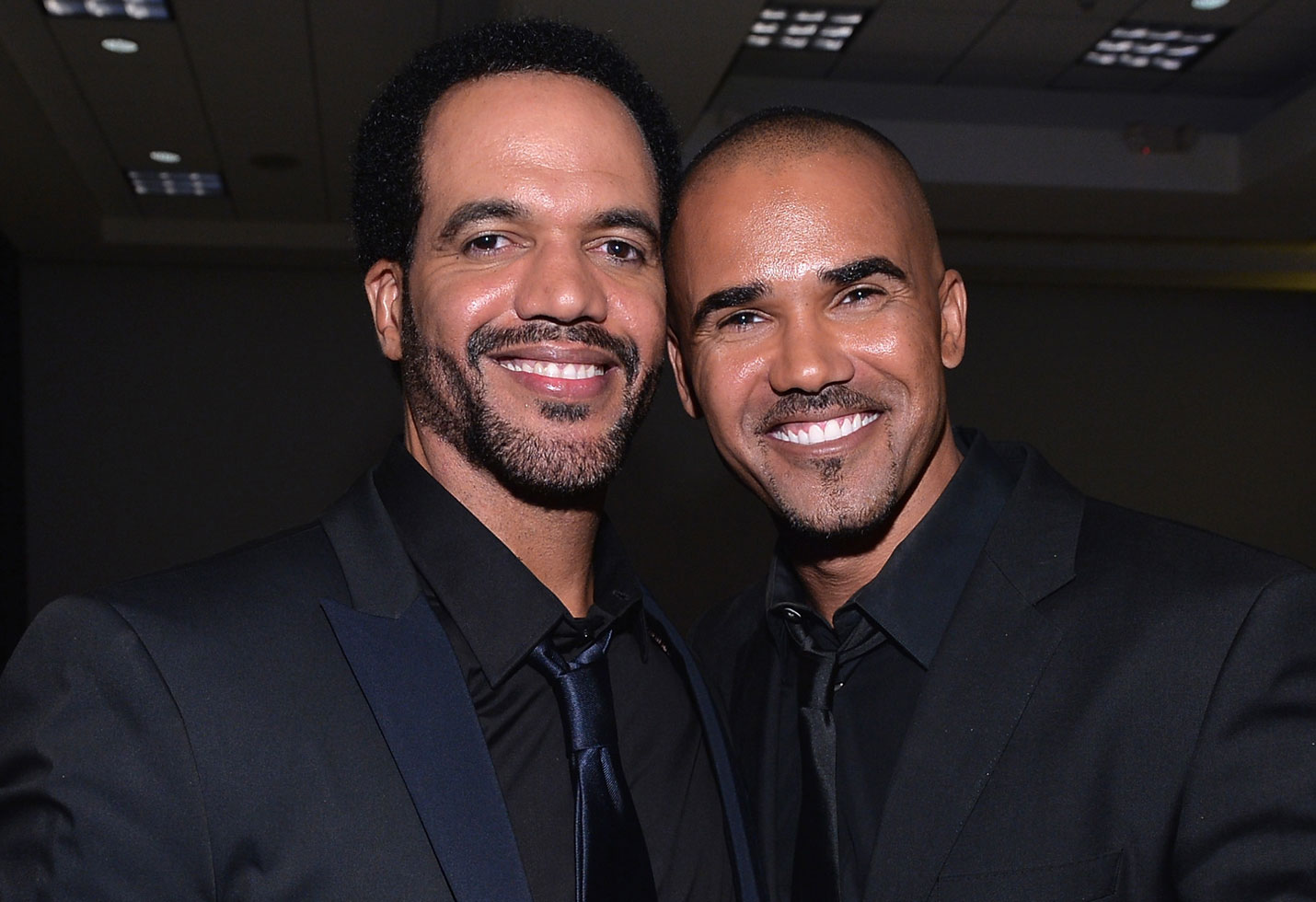 Shemar moore the young and the restless kristoff st john tribute eileen davidson