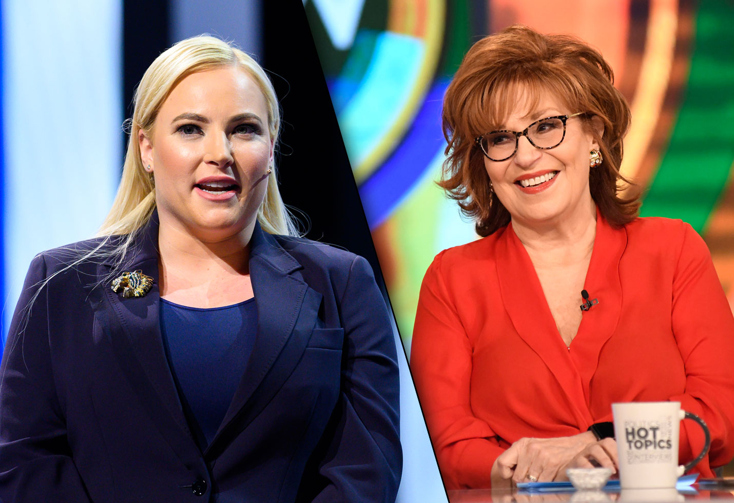 The view meghan mccain disrespects joy behar video