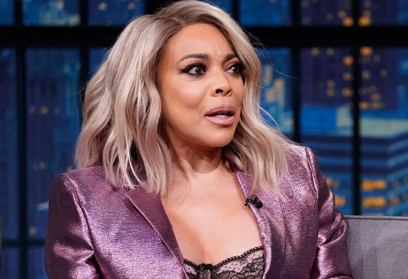 Wendy williams leaving sober home after divorce filing