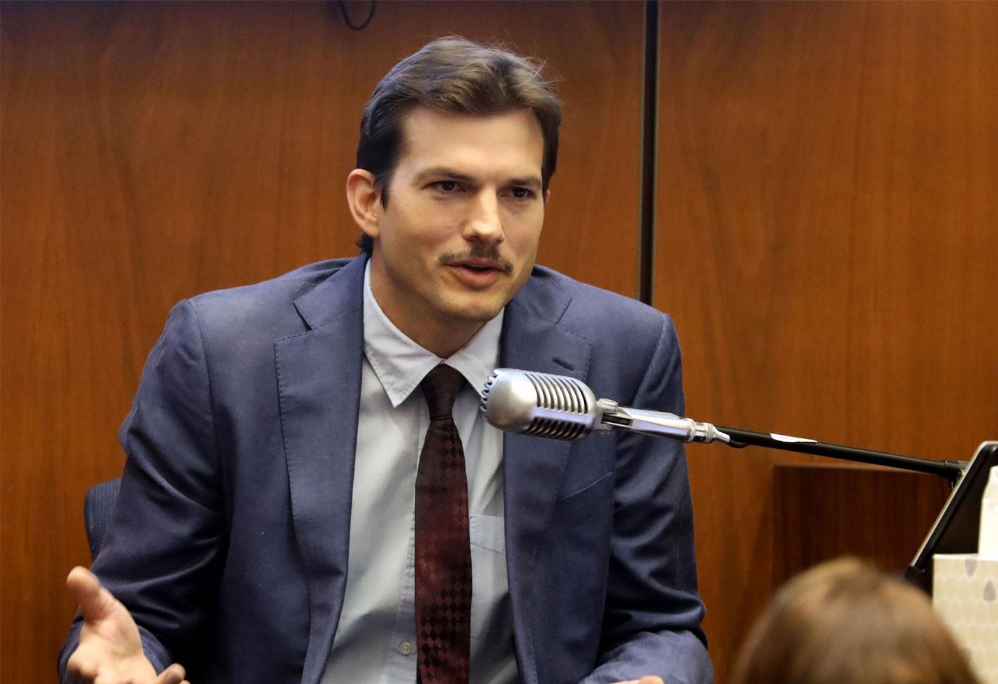 Ashton kutcher testifies hollywood ripper ashley ellerin murder photos