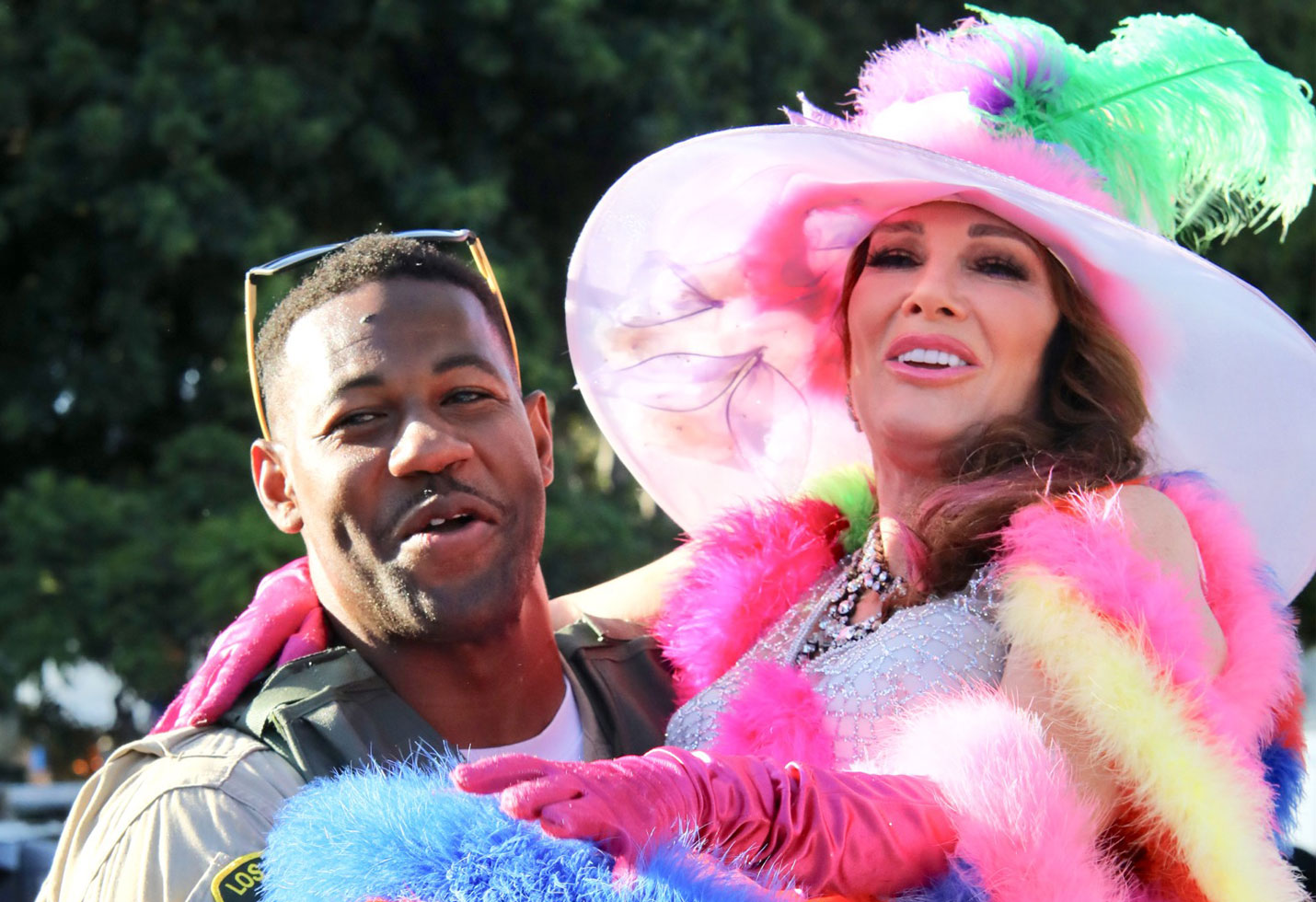 Lisa vanderpump la pride parade vanderpump rules cast photos