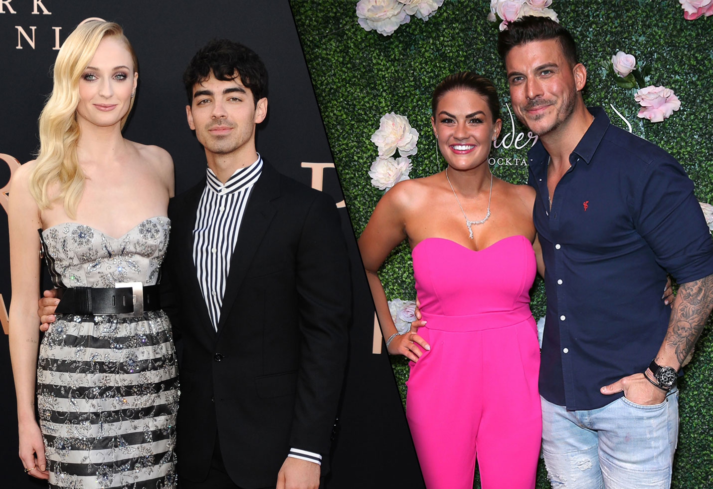 Brittany Cartwright and Jax Taylor and Sophie Turner and Joe Jonas