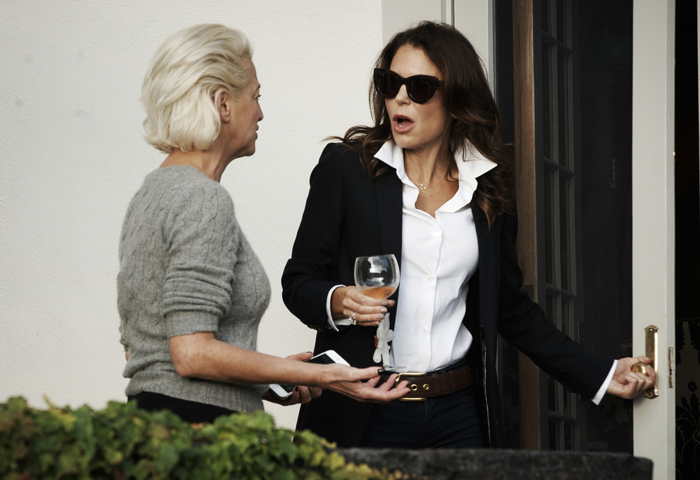 Dorinda Medley and Bethenny Frankel