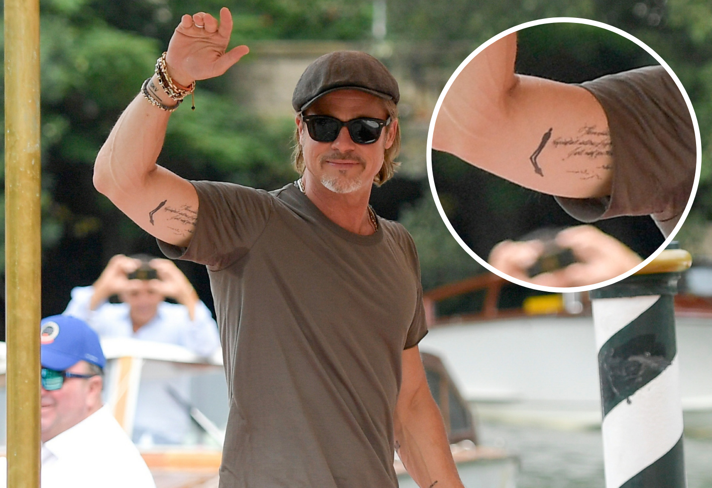 Angelina Jolie Tattoos 2019: Brad Pitt Changes Matching Angelina Jolie Tattoo: See The