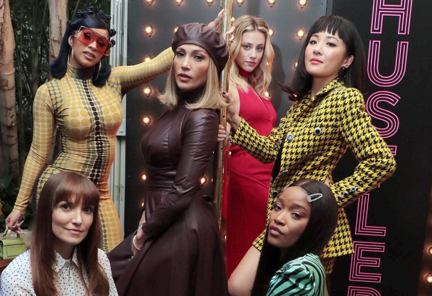 Writer/Director Lorene Scafaria, Cardi B, Jennifer Lopez, Lili Reinhart, Constance Wu and Keke Palmer