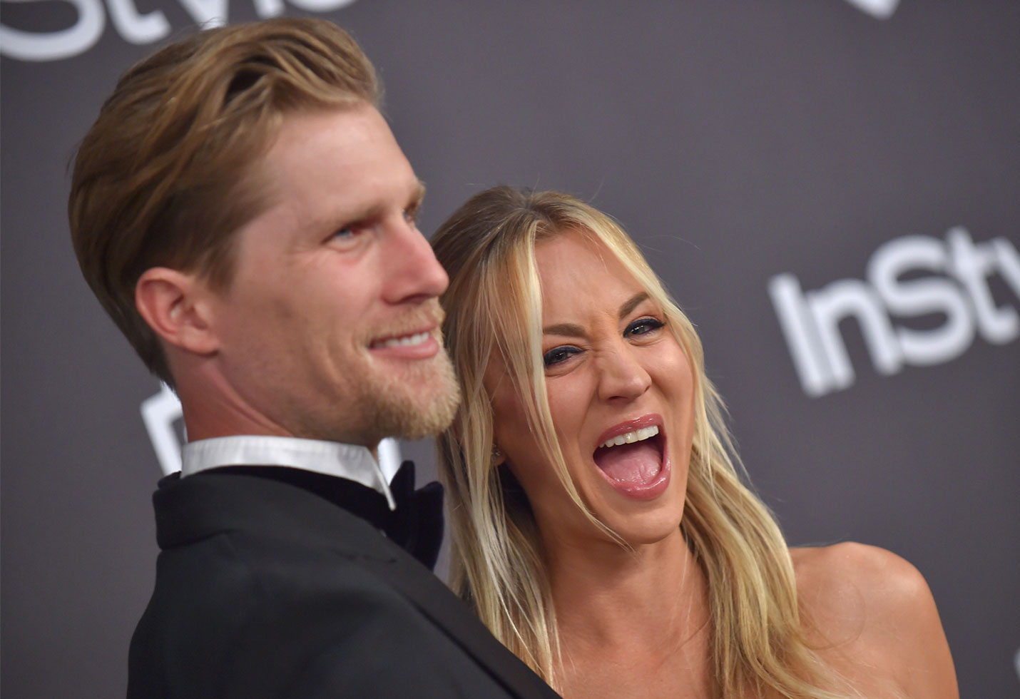 -PICTURED: Kaley Cuoco and Karl Cook