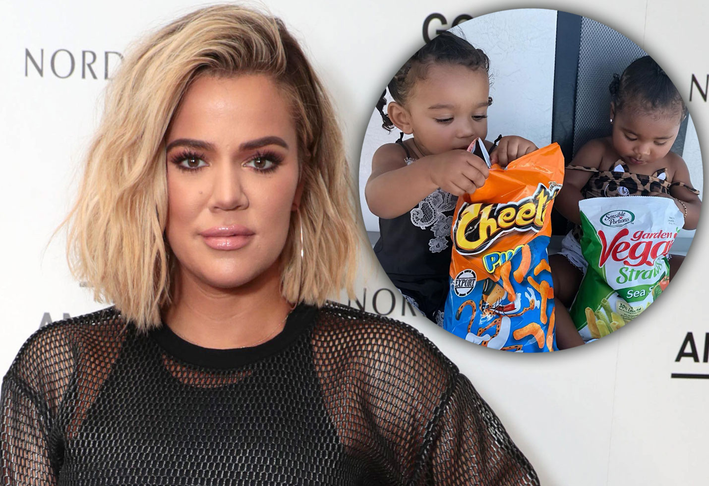 Khloe and True and Chicago