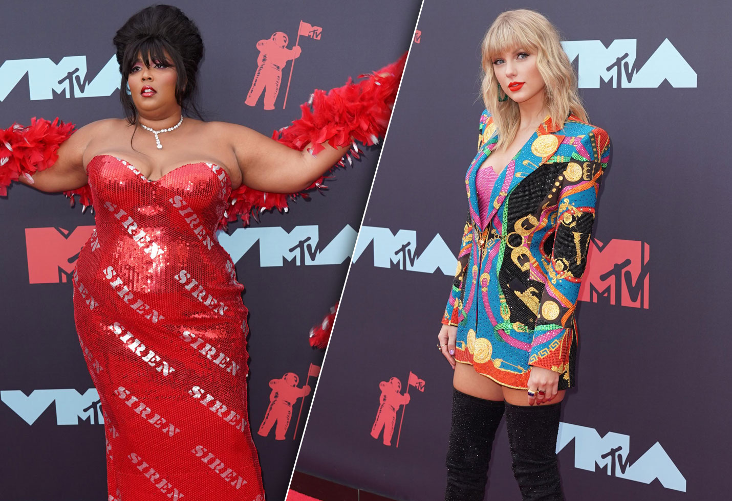 Lizzo and Taylor Swift