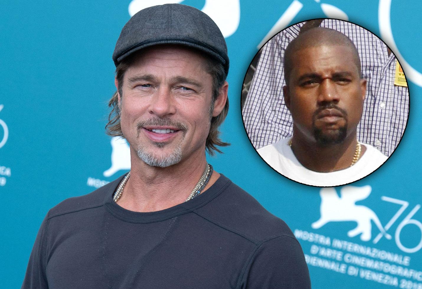 Brad Pitt & Kaney West