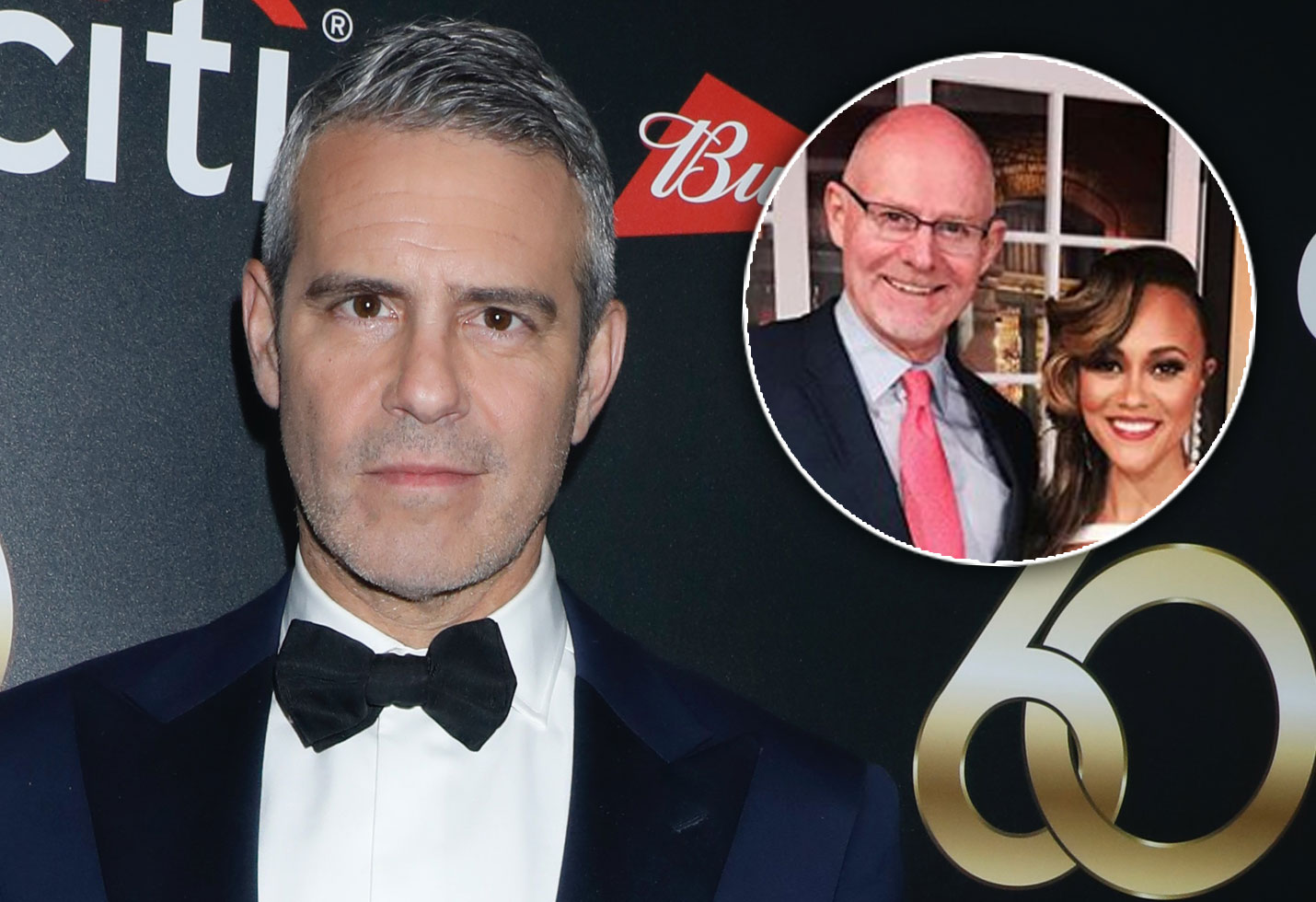 Andy Cohen and Michael and Ashley Darby