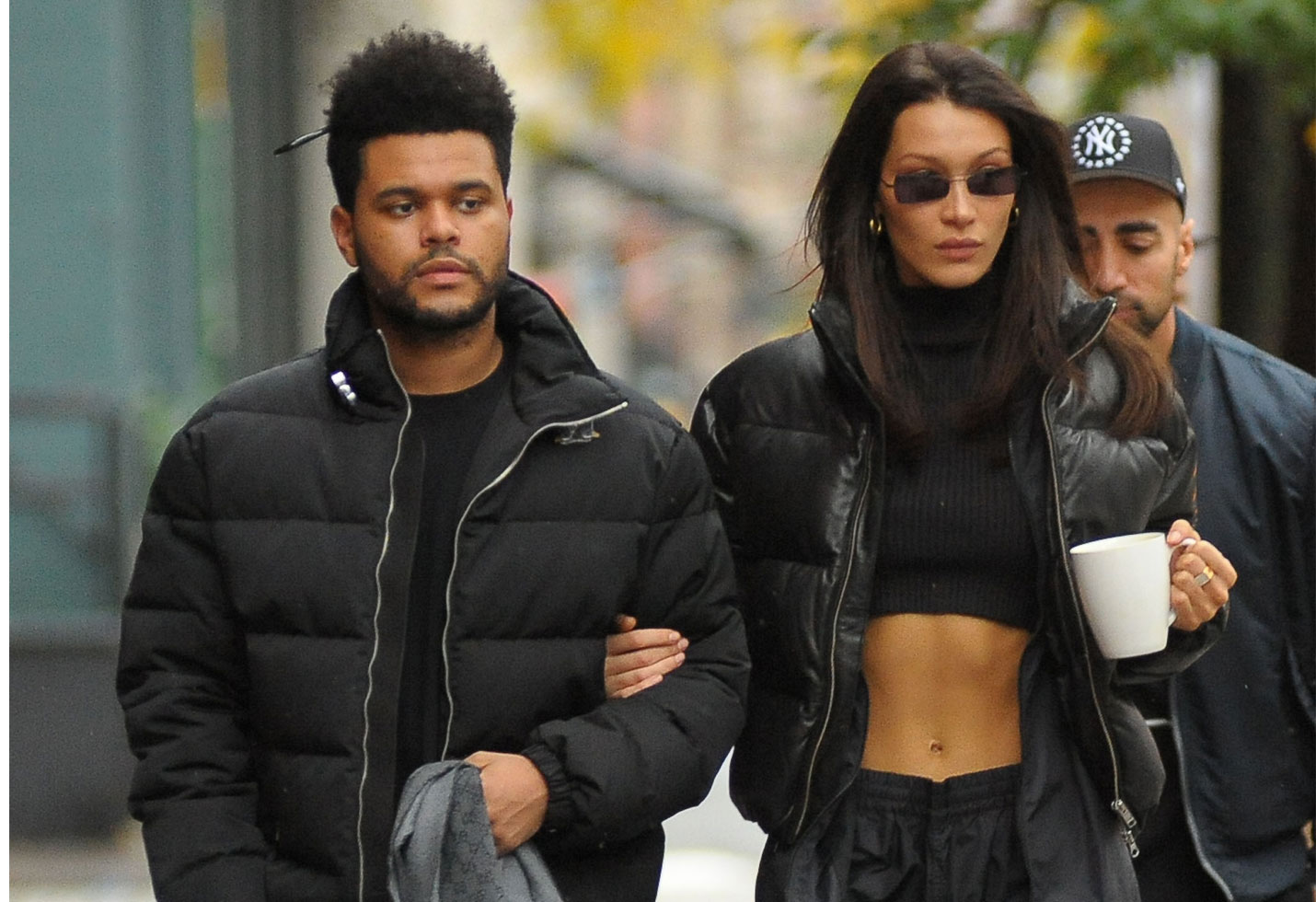 -PICTURED: The Weeknd and Bella Hadid