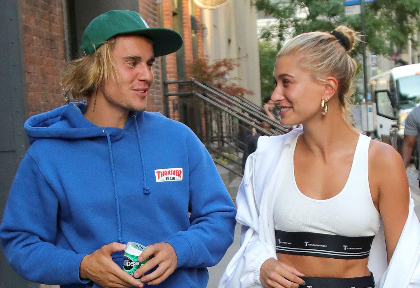 -PICTURED: Justin Bieber, Hailey Baldwin