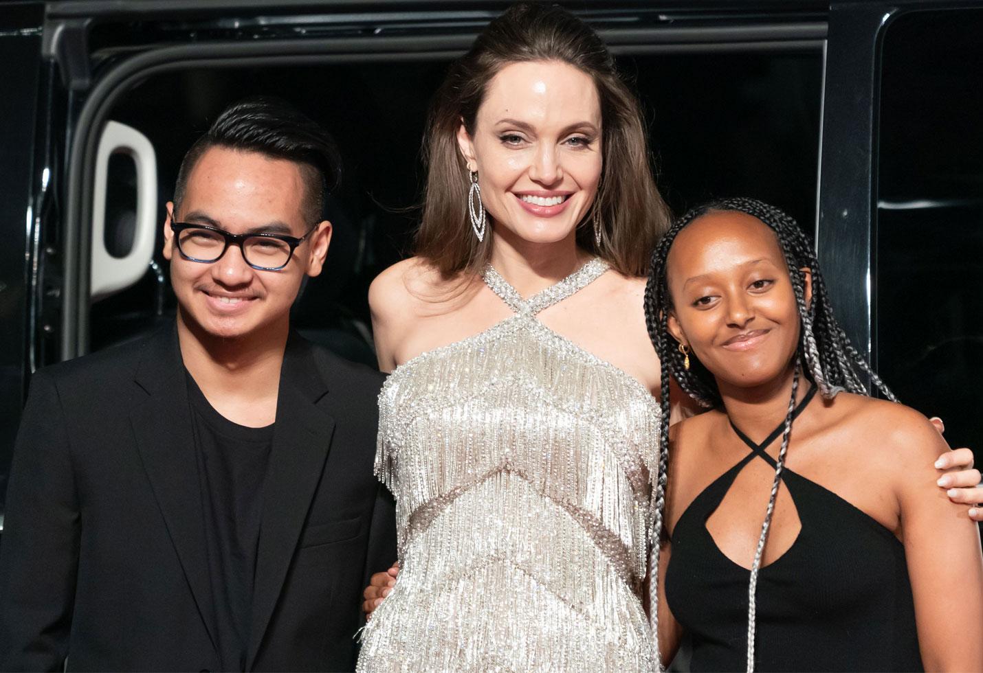 Maddox Reunites With Mom Angelina Jolie Amid Brad Pitt