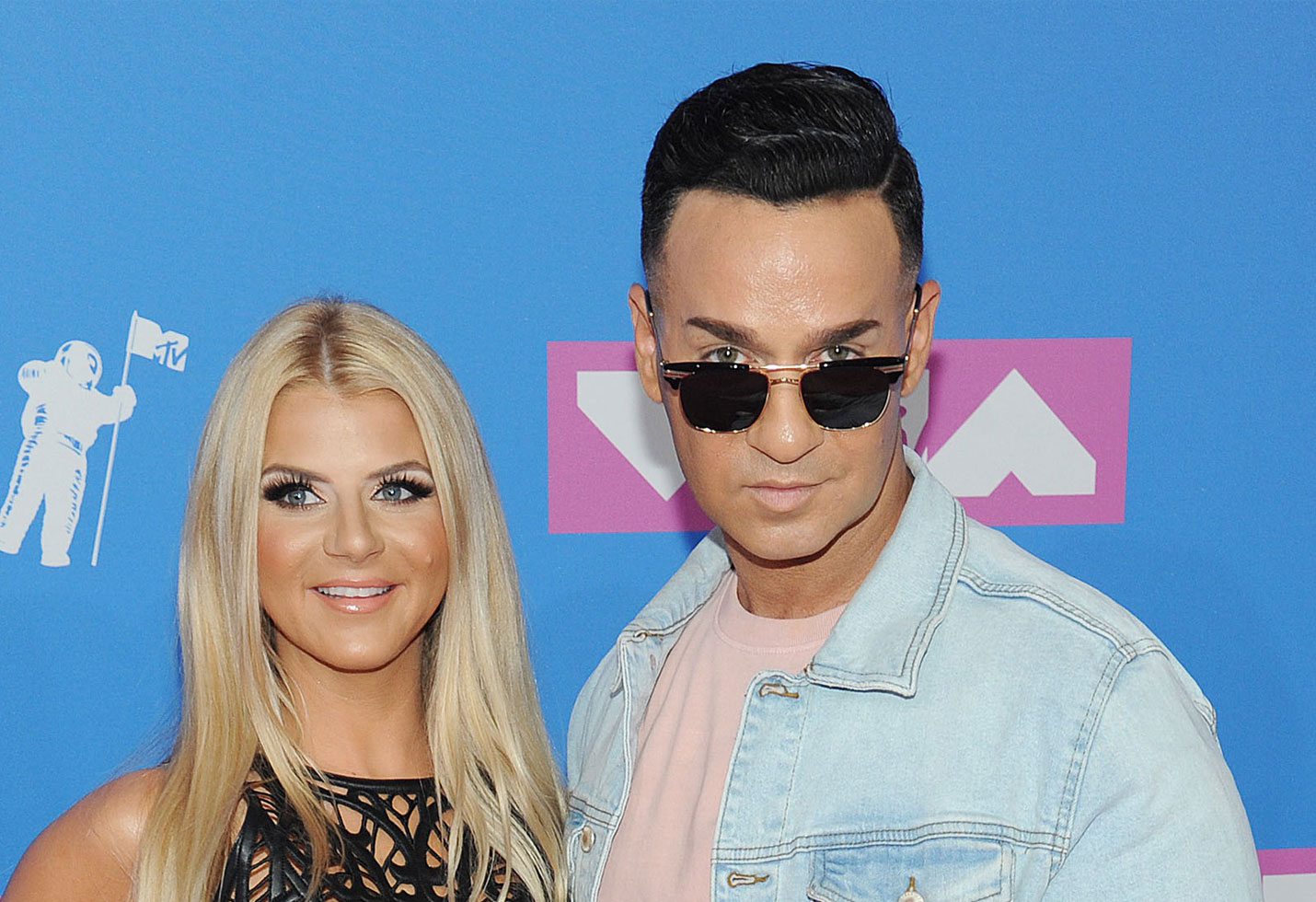 -PICTURED: Lauren Pesce and Mike Sorrentino