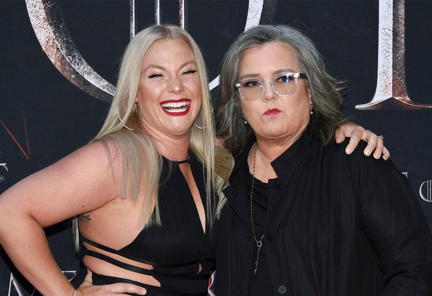 -PICTURED: Rosie O'Donnell with Elizabeth Rooney