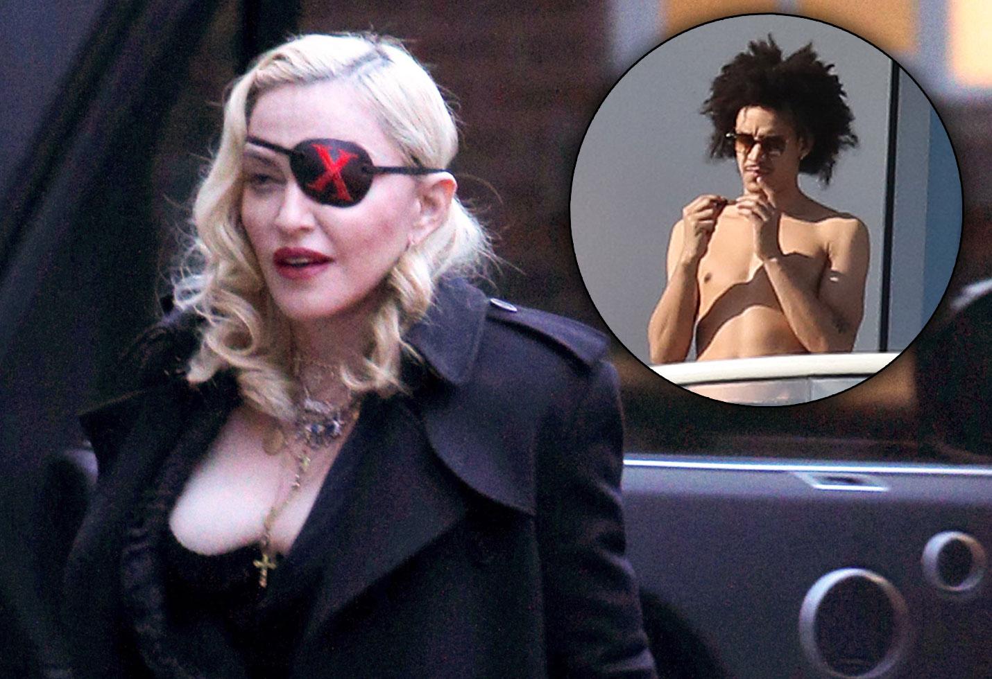 Madonna and Ahlamalik Williams