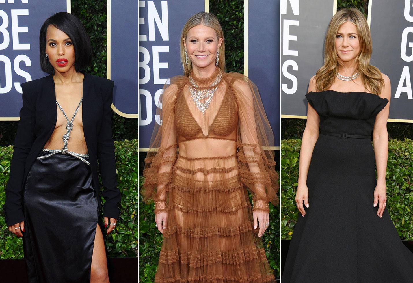 Golden Globes 2020 Red Carpet J Lo Jennifer Aniston More