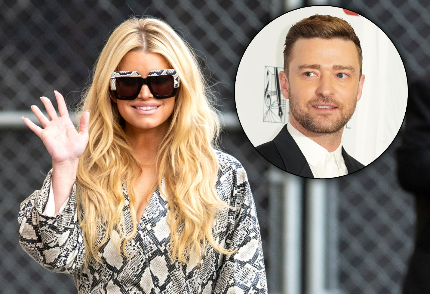 Jessica Simpson and Justin timberlake