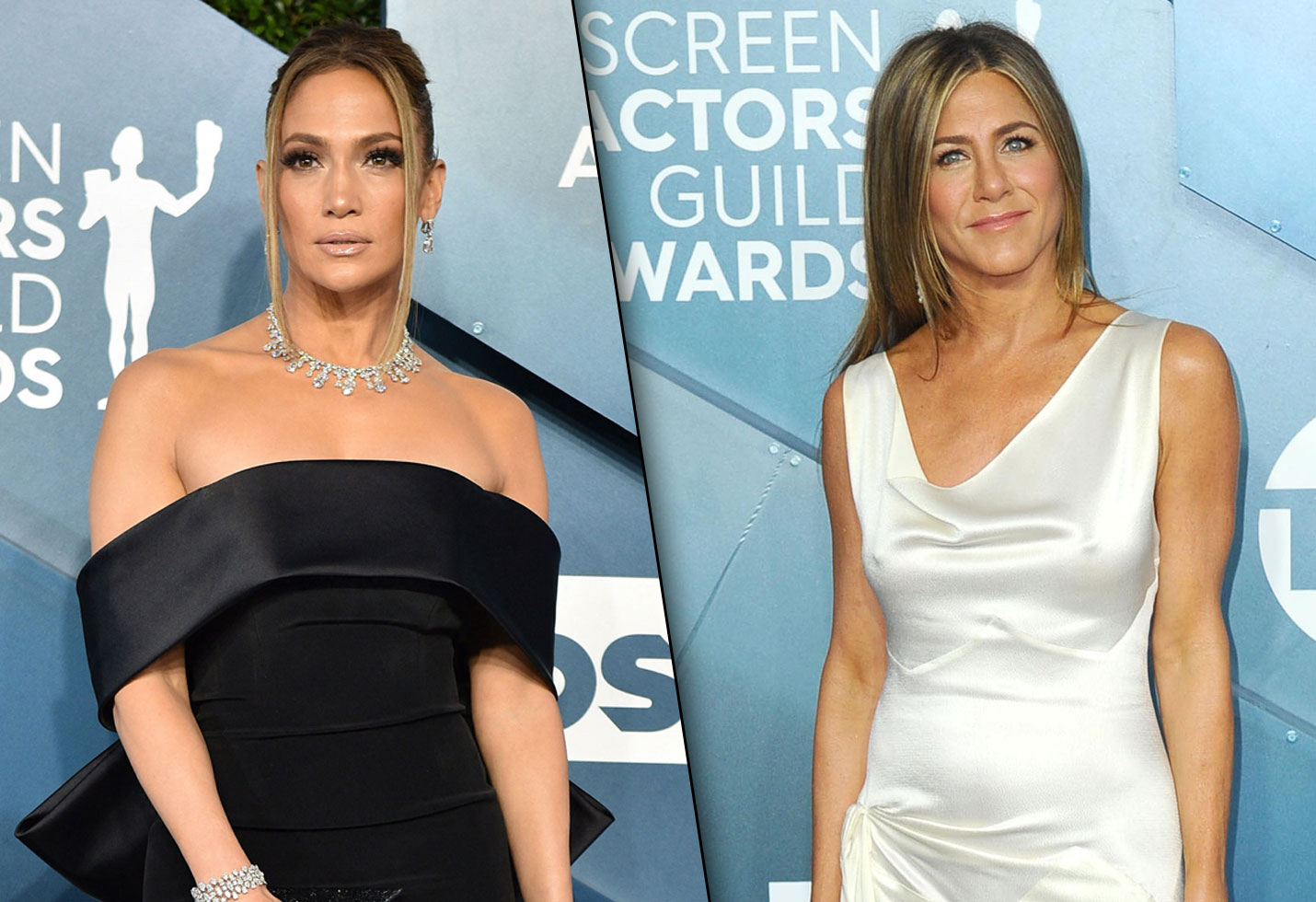 Jennifer Lopez and Jennifer Aniston