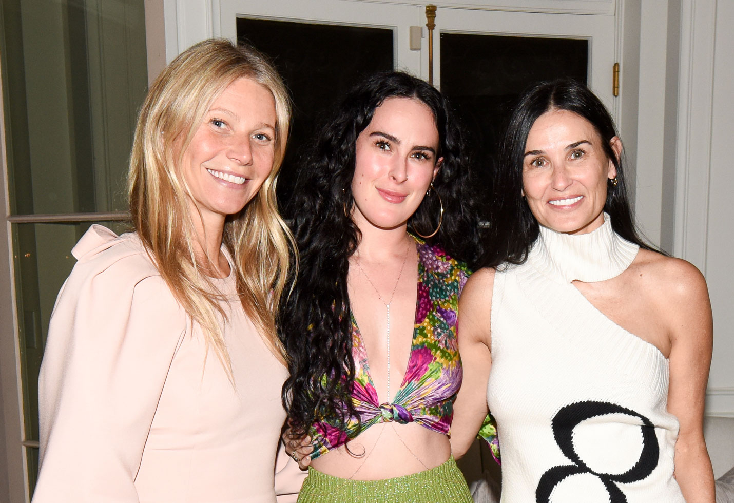 Gwyneth Paltrow, Rumer Willis, Demi Moore