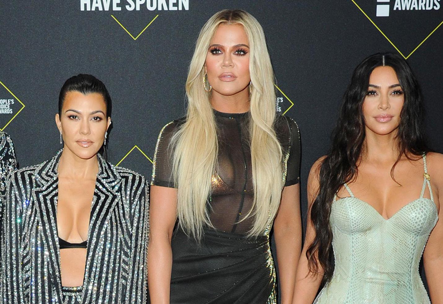 Kourtney Kardashian, Khloe Kardashian, Kim Kardashian West