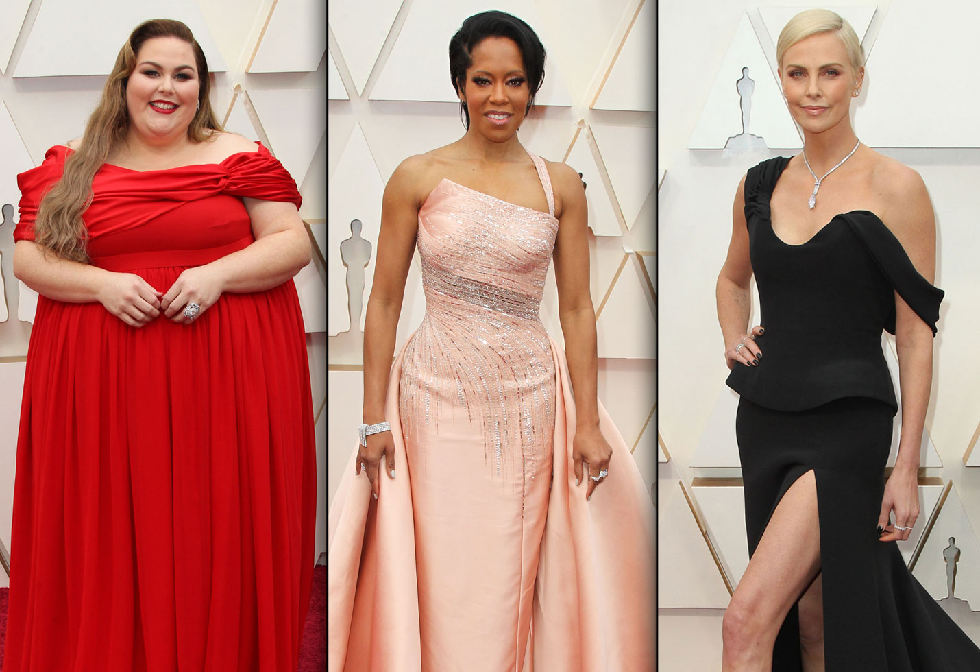 Chrissy Metz, Regina King and Charlize Theron